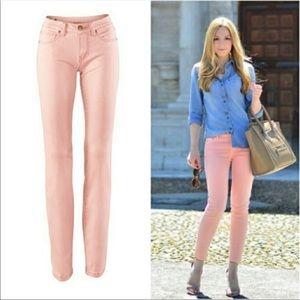 CAbi Nectar pink curvy skinny jeans